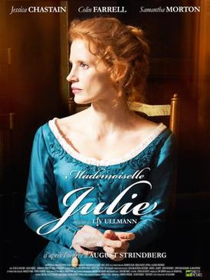 Miss Julie (2014 film) - French poster