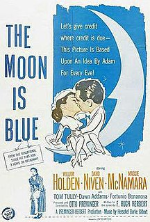 <i>The Moon Is Blue</i> 1953 film by Otto Preminger
