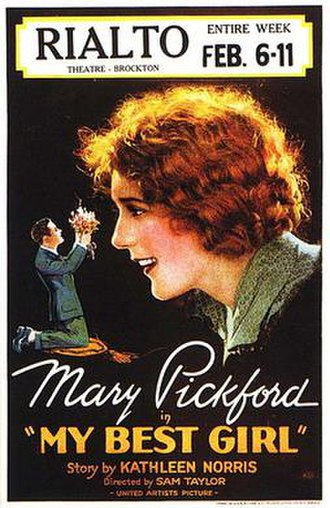 My Best Girl (1927 film) - My Best Girl theatrical poster