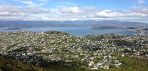 Ngaio, Wellington, New Zealand from the Ngaio Hills.jpg