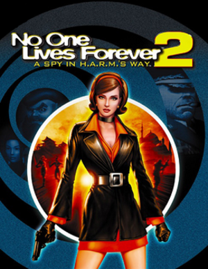 No One Lives Forever 2: A Spy in H.A.R.M.'s Way - Image: No One Lives Forever 2 cover