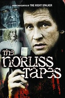<i>The Norliss Tapes</i> 1973 film by Dan Curtis