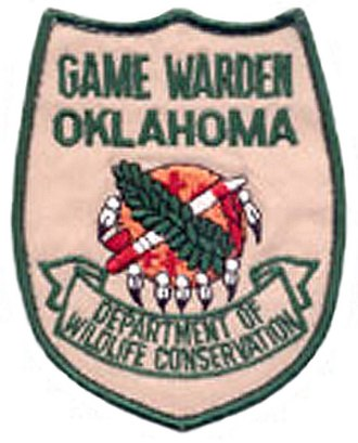 Oklahoma Department of Wildlife Conservation - Image: OK State Game Warden