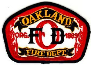 Oakland Fire Department - Image: Oakland Fire Department Logo