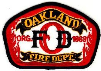 Oakland Fire Department - Image: Oakland Fire Department Logo