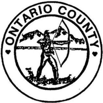 Ontario County, New York - Image: Ontario County ny seal