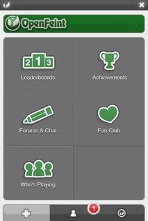 OpenFeint Social platform for mobile games