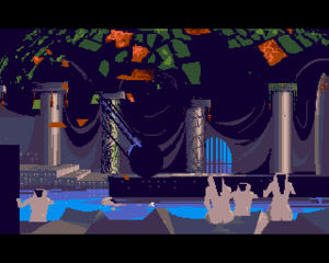 Another World (video game) - Image: Out Of This World Amiga