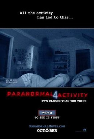 Paranormal Activity 4 - Theatrical release poster