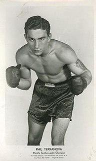 Phil Terranova American boxer