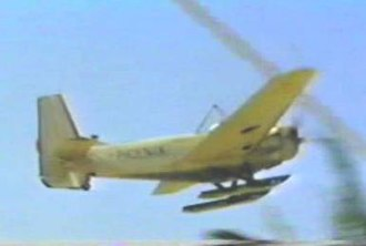 Tallmantz Phoenix P-1 -  The North American O-47A used in the final sequence