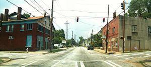 Pittsburgh, Atlanta - McDaniel Street in Pittsburgh
