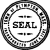Official seal of Plympton, Massachusetts