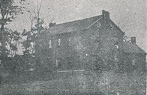 History of Ashland, Kentucky - The first brick home built in Poage Settlement.