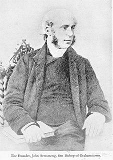 John Armstrong (bishop of Grahamstown) 19th-century Bishop of Grahamstown