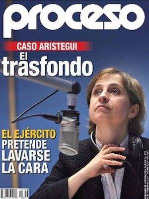 Proceso (magazine) - Image: Proceso Carmen Aristegui