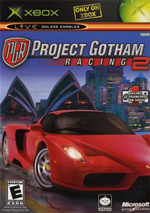 Project Gotham Racing 2 - Image: Project Gotham Racing 2 Coverart