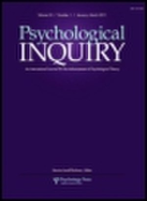 Psychological Inquiry - Image: Psychological Inquiry(Cover)