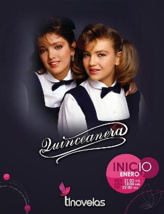 Quinceañera (TV series) - Image: Quinceañerathalía