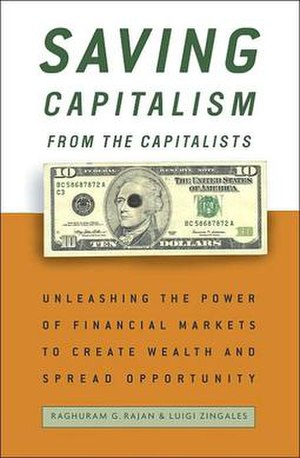 Book cover, Saving Capitalism from the Capital...