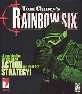 <i>Tom Clancys Rainbow Six</i> (video game) 1996 tactical shooter computer game and the first in the Rainbow Six series