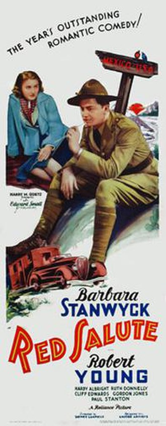 Red Salute (1935 film) - Image: Red Salute 1935 Poster