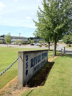 River Ridge HS Lacey sign.jpg