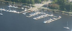 Rockcliffe Yacht Club - Image: Rockcliffe Yacht Club Ottawa River
