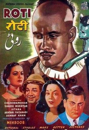 Roti (1942 film) - Film poster