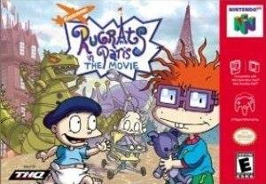 Rugrats in Paris: The Movie (video game) - Image: Rugratsinparisn 64