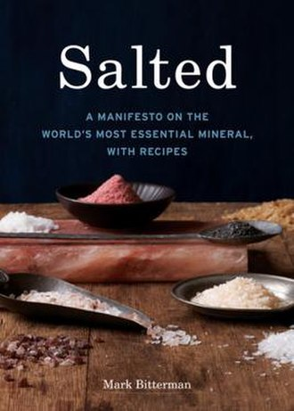 Salted (book) - Image: Salted A Manifesto by Mark Bitterman 2010