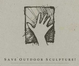 Save Outdoor Sculpture! - The SOS! Logo