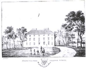Paston College - Sketch of the original Paston building