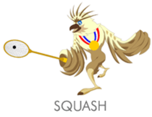 Squash at the 2005 Southeast Asian Games - Squash at the 2005 Southeast Asian Games logo