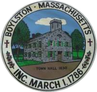 Boylston, Massachusetts - Image: Sealof Boylston MA