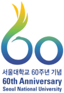 The 60th anniversary commemoration emblem of Seoul National University