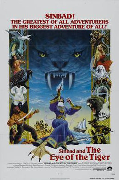 Sinbad and the Eye of the Tiger (1977) movie poster