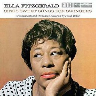 Ella Fitzgerald Sings Sweet Songs for Swingers - Image: Sings Sweet Songsfor Swingers
