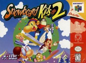 Snowboard Kids 2 - North American Nintendo 64 cover art