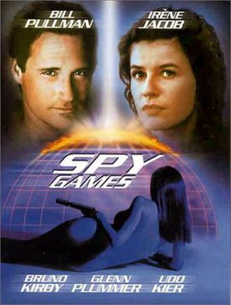 Spy Games - DVD cover