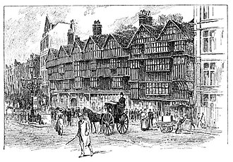 "Holborn - ""Old Holborn"": Staple Inn in 1900"