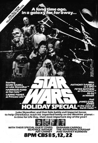 Star Wars Holiday Special - An advertisement for the special in a 1978 TV Guide