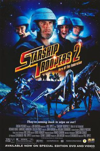 Starship Troopers 2: Hero of the Federation - Image: Starship Troopers 2