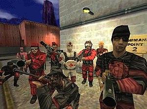 Team Fortress Classic - Image: Team Fortress Classic original models