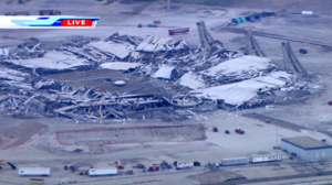 Texas Stadium - A post-demolition view by WFAA-TV in April 2010