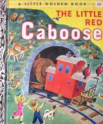 The Little Red Caboose - Image: The Little Red Caboose