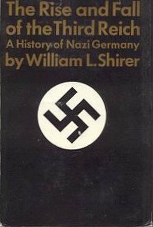 The Rise and Fall of the Third Reich - Cover of the first edition