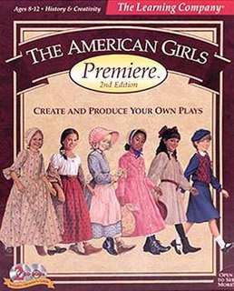 <i>The American Girls Premiere</i> Educational computer game