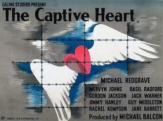 The Captive Heart - Original British 1946 quad film poster