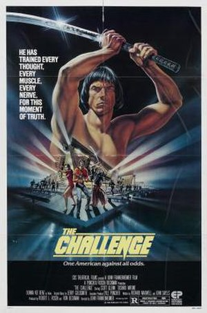 The Challenge (1982 film) - Image: The Challenge 1982